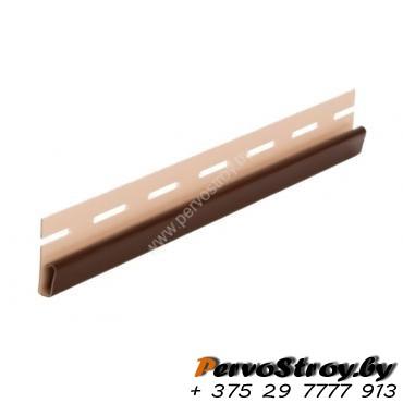 Финишная планка (завершающая полоса) коричневая  Vox ( 3.05м ) - изображение 1