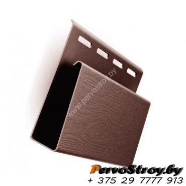 Наличник  коричневый для винилового сайдинга ( 3.05м ) - изображение 1