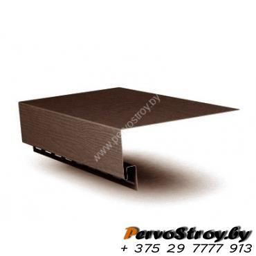 Околооконная планка широкая,  (шир.  25 см)  коричневая  Vox ( 3.05м ) - изображение 1