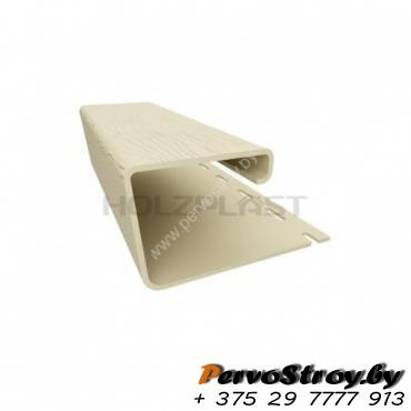 Наличник ( J-профиль ) для сайдинга ( 3,05 м ) - изображение 3