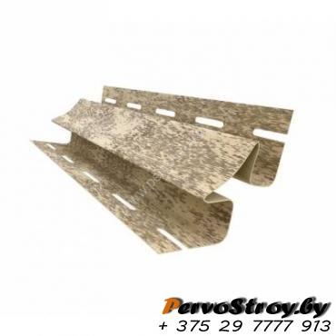 Внутренний угол Ю-Пласт, Кирпич песочный ( 3м ) - изображение 1