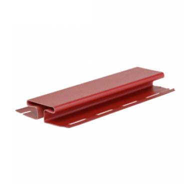 H-профиль (соеденительная планка) красный ( 3,05 м ) - изображение 1