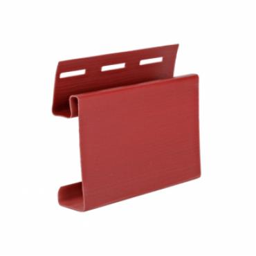 Наличник для сайдинга, красный ( 3,05 м ) - изображение 1