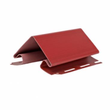 Угол наружный для сайдинга, красный ( 3,05 м ) - изображение 1