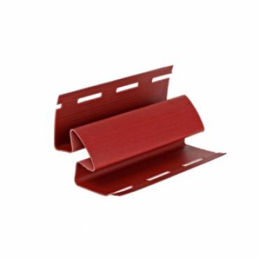 Угол внутренний для сайдинга, красный ( 3,05 м ) - изображение 1
