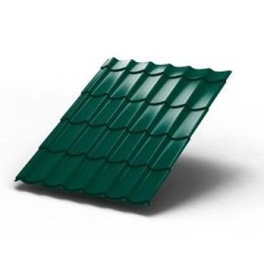 Металлочерепица Монтеррей Зеленый - изображение 1