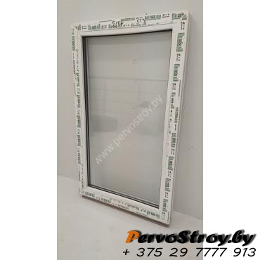 Окно глухое 800*500, 2 стекла. Элемент остекленения - изображение 2