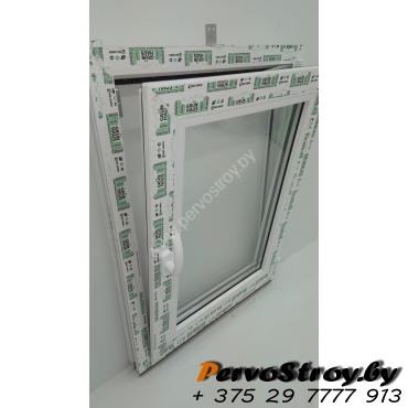 Окно поворотно-откидное 800*600, 2 стекла - изображение 5