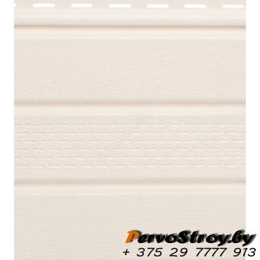 Софит белый с центральной перфорацией Гранд-лайн - изображение 1