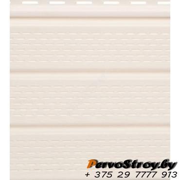 Софит белый полностью перфорированный Гранд-лайн - изображение 1