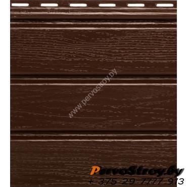 Софит коричневый без перфораций Гранд-лайн - изображение 1