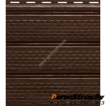 Софит коричневый полностью перфорированный Гранд-лайн - изображение 1