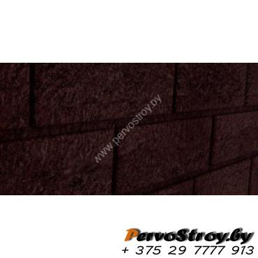 Сайдинг Стоун Хаус Кирпич коричневый - изображение 1