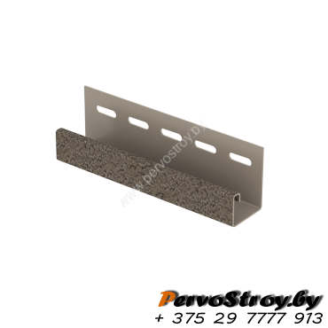 J-планка Ю-Пласт, S-Lock Клинкер Бежевый - изображение 1