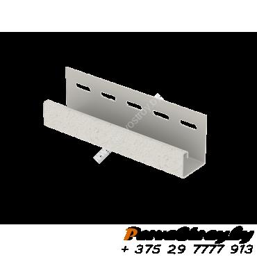 J-планка Ю-Пласт, S-Lock Клинкер Дымчатый - изображение 1