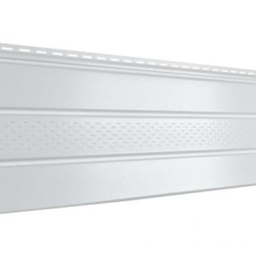 Софит Ю-Пласт PRO, Белый с частичной перфорацией - изображение 1