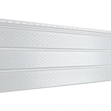 Софит Ю-Пласт PRO, Белый с полной перфорацией - изображение 1