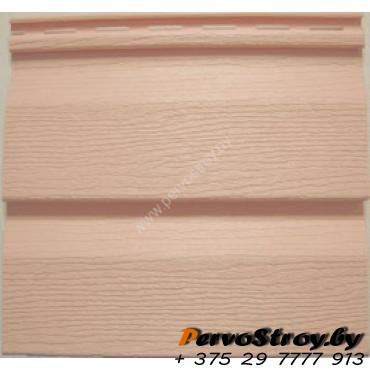 Виниловый сайдинг Ю пласт, Розовый - изображение 1