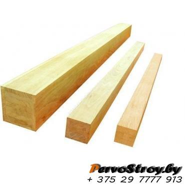 Деревянные бруски для обрешетки 50х50мм (3 метра ) - изображение 1