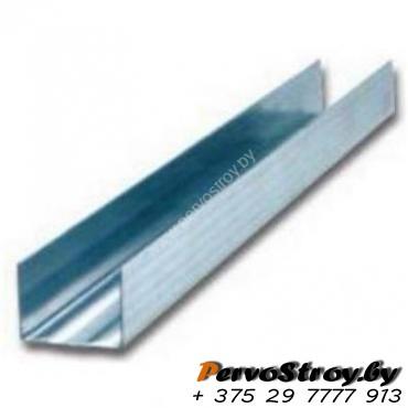 Профиль для обрешетки UD: 27x28. Толщина металла - 0.45 мм. ( 3 метра ) - изображение 1