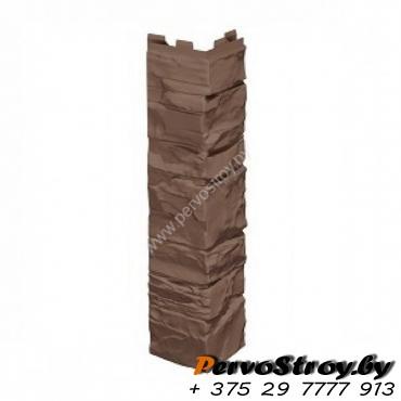 Угол коричневый  VILO SOLID STONE (BROWN) - изображение 1