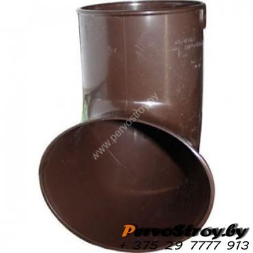 Слив трубы Альта-профиль Элит  ПВХ коричневый - изображение 1
