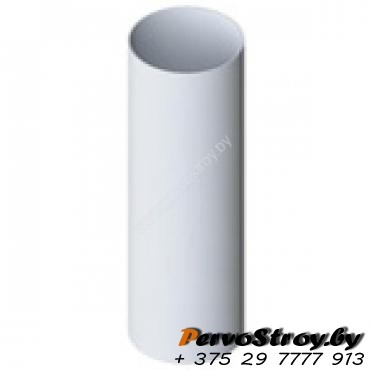 Труба водосточная Альта-профиль Элит  ПВХ белая 4м - изображение 1