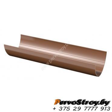 Водосточный желоб 3 м Технониколь коричневый - изображение 1