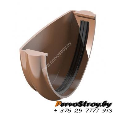 Заглушка желоба Технониколь коричневая - изображение 1