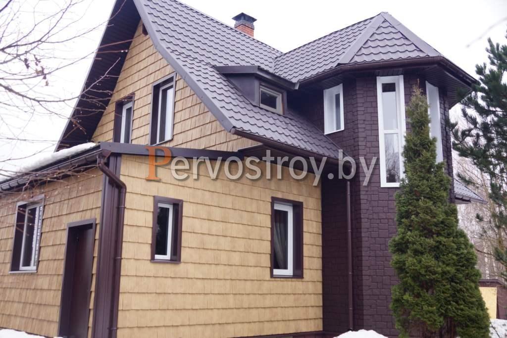 купить фасадные панели сибирская дранка