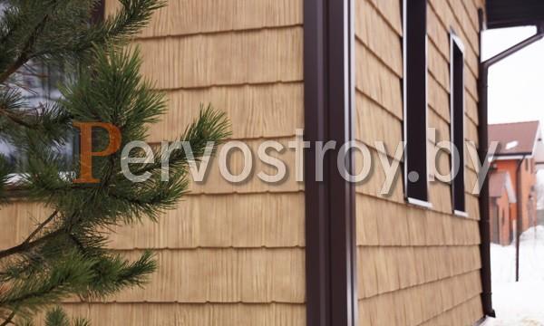 фасадные панели grand line сибирская дранка